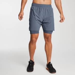 MP Men's Essentials 2-in-1 Training Shorts - Galaxy