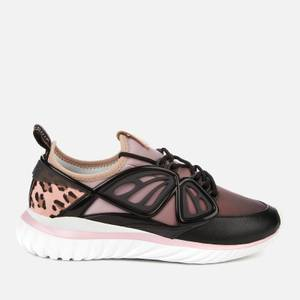 Sophia Webster Women's Fly-By Running Style Trainers - Black/Pink