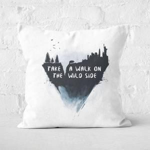 Walk On The Wild Side Cushion Square Cushion
