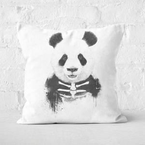 Zombie Panda Cushion Square Cushion