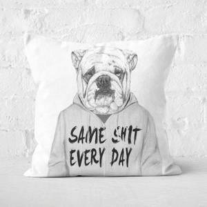 Same Shit Cushion Square Cushion