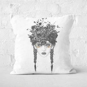 Summer Queen Cushion Square Cushion