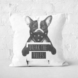 Rebel Dog Cushion Square Cushion