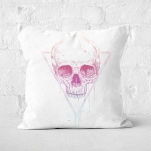 Skull In A Triangle Cushion Square Cushion