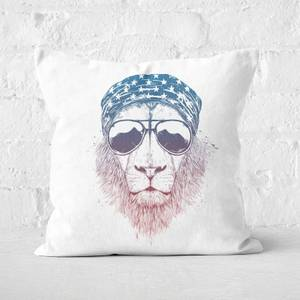 Wild Lion Cushion Square Cushion