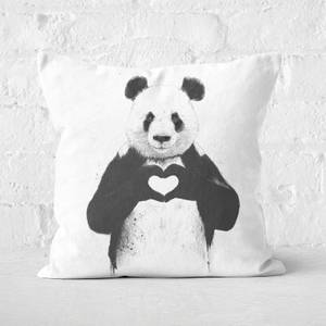 All You Need Is Love Cushion Square Cushion