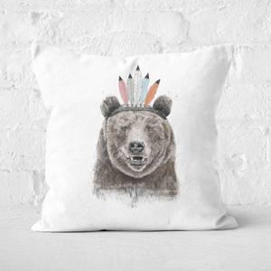 Festival Bear Cushion Square Cushion