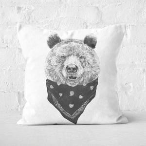 Wild Bear Cushion Square Cushion