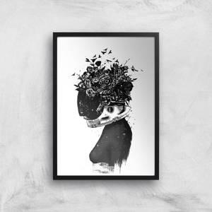 Hybrid Girl Print Giclee Art Print