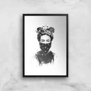 Rebel Girl Print Giclee Art Print