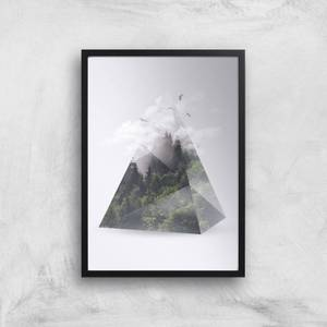 Forest Triangle Giclee Art Print