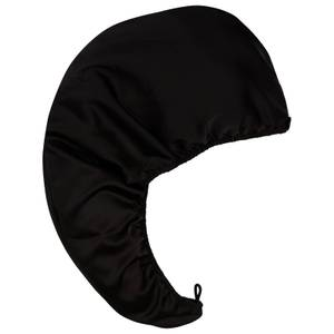 AQUIS Black Double Layer Hair Turban - Exclusive
