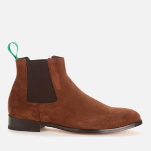 Paul Smith Men's Crown Suede Chelsea Boots - Tan