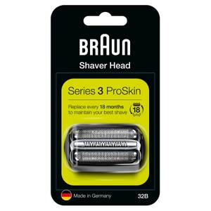 Series 3 32B Electric Shaver Head Replacement, Black