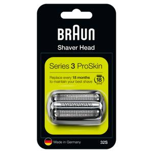 Series 3 32S Electric Shaver Head Replacement, Silver