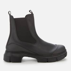 Ganni Women's Recycled Rubber Boots - Black