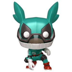 My Hero Academia Deku con Casco Metallic EXC Figura Pop! Vinyl