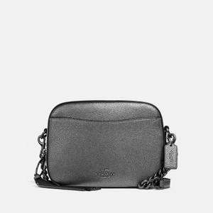 Coach Women's Camera Bag - Metallic Graphite