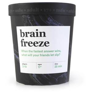 Brain Freeze Card Game (NSFW Edition)