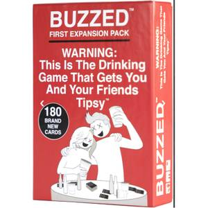 Buzzed First Expansion Card Game