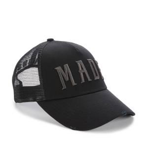 Milliner Made Trucker Cap - Black