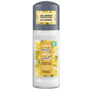 Love Beauty and Planet Energizing Coconut Oil & Ylang Ylang Roll-on Deodorant