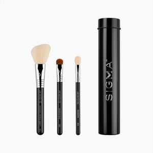 Sigma Beauty Essential Trio Brush Set - Black