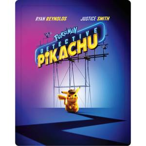 Pokemon: Detective Pikachu - 3D Limited Edition Steelbook (Includes 2D Blu-ray)