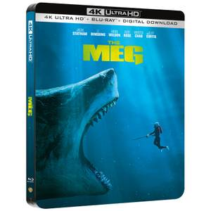 The Meg - 4K Ultra HD Limited Edition Steelbook (Includes 2D Blu-ray)