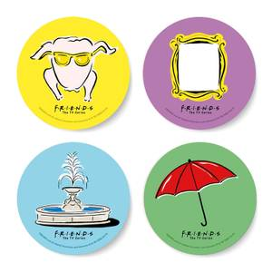 Friends Icons Coaster Set