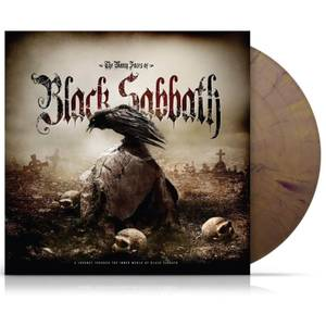 The Many Faces of Black Sabbath - Limited Edition Double Gatefold - Gold/Black Splatter Vinyl