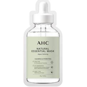 AHC Natural Essential Face Mask Hydrating and Calming for Tired Skin