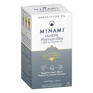 MorEPA Platinum Elite +1000 IU Vitamin D3