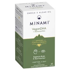 Minami VeganDHA Растительная ОМЕГА-3 - 60 капсул