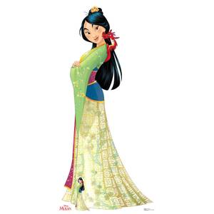 Disney Mulan Mushu Lifesized Cardboard Cut Out