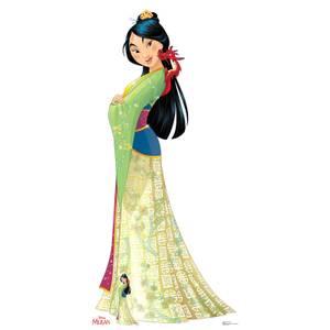 Disney Mulan Mushu lebensgroßer Karton-Aufsteller