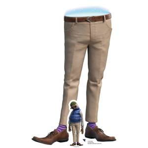 Onward Dad Mini Cardboard Cut Out
