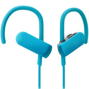 Audio Technica Bluetooth Sports Headphones - Blue/Black