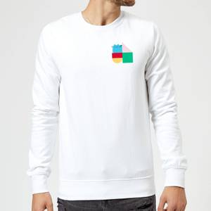Pusheen Square Blocks Sweatshirt - White