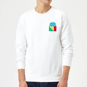 Pusheen Square Sweatshirt - White