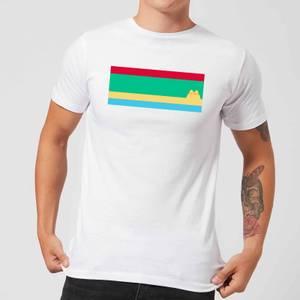 Pusheen Stripe Men's T-Shirt - White