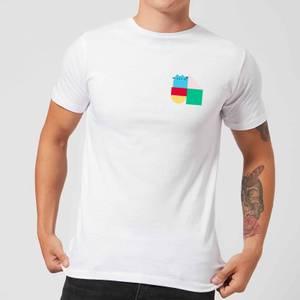 Pusheen Square Blocks Men's T-Shirt - White