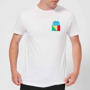 Pusheen Square Men's T-Shirt - White