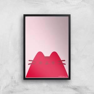 Pusheen Large Logo Giclee Art Print
