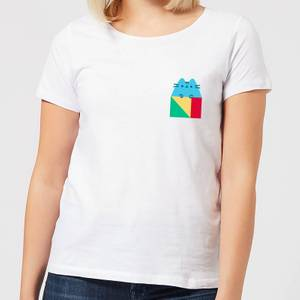 Pusheen Square Women's T-Shirt - White