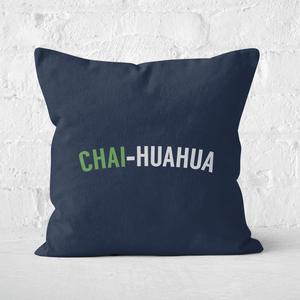 Chai-huahua Square Cushion