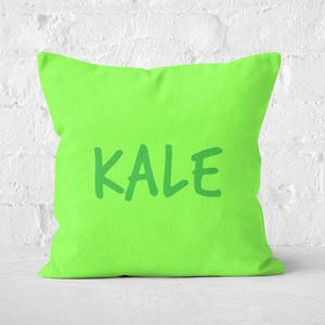 Kale Square Cushion
