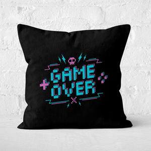 Game Over Gaming Square Cushion