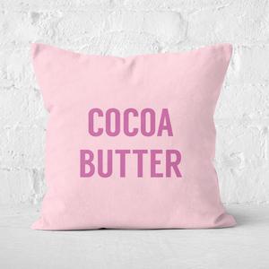 Cocoa Butter Square Cushion