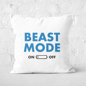 Beast Mode On Square Cushion